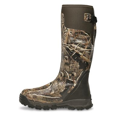 "LaCrosse Men's Alphaburly Pro 18"" Insulated Camo Boots, 800 Grams, Realtree Max-5"