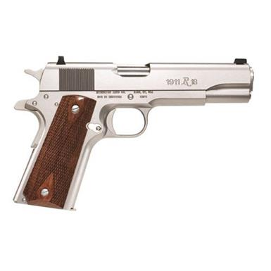 "Remington 1911 R1 Stainless, Semi-Automatic, .45 ACP, 5"" Barrel, 7+1 Rounds"
