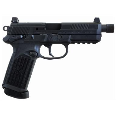 "FNH FNX-45 Tactical, Semi-Automatic, .45 ACP, 5.3"" Stainless Barrel, 15+1 Rounds"