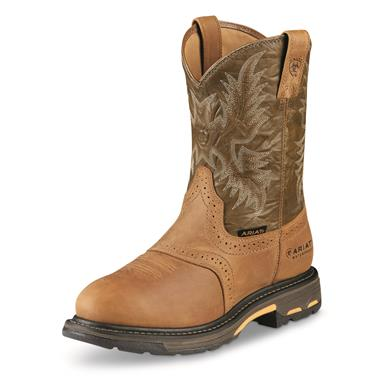 Ariat Men's WorkHog Waterproof Western Work Boots