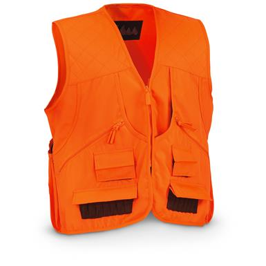 World Famous Sports Upland Game Vest, Blaze Orange