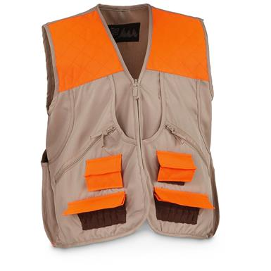 World Famous Sports Upland Game Vest, Tan Orange