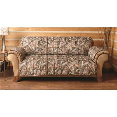 "Sofa: 110"" x 75.5"" (including arms), fits most sofas up to 92""l., Mossy Oak Break-Up® COUNTRY™"