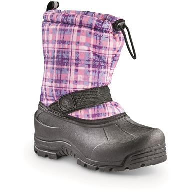 Northside Kids' Frosty Winter Boots, Purple Plaid