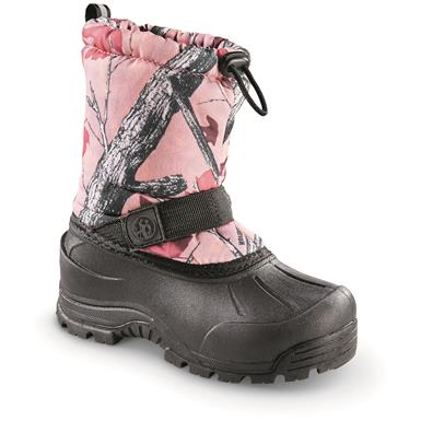Northside Kids' Frosty Winter Boots, Pink Camo