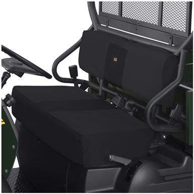 Quad Gear UTV Bench Seat Cover, Kawasaki Mule 600 Series, Black