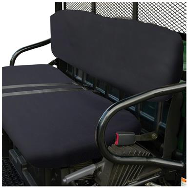 Quad Gear UTV Bench Seat Cover, Polaris Ranger 2002 - 2008 Series, Black