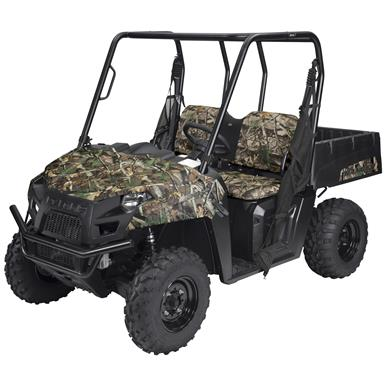 Quad Gear UTV Bench Seat Cover, Polaris Ranger Mid-Size 400, 500 and 800 Series, Next Camo