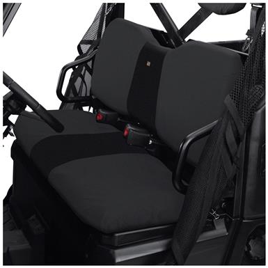 Quad Gear UTV Bench Seat Cover, Polaris Ranger Full-size 800 and 900 Series, Black