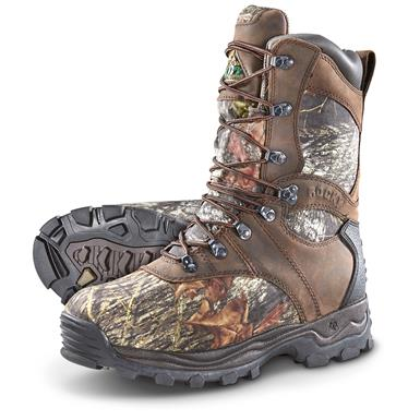 Rocky Sport Utility Pro Insulated Waterproof Boots, 1000 Grams, Mossy Oak Camo, Mossy Oak Break-Up®
