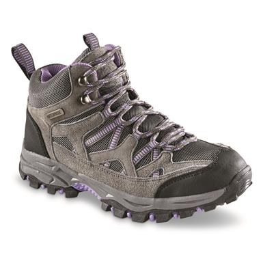 Itasca Women's Vista Hiking Boots, Gray/Purple