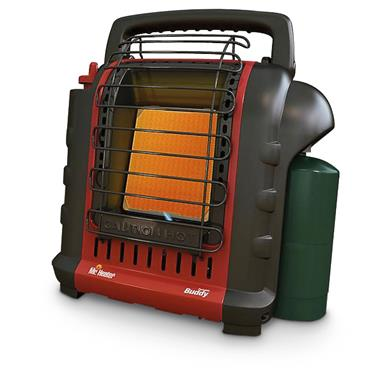 Mr Heater Buddy Portable Propane Heater, 9,000 BTU