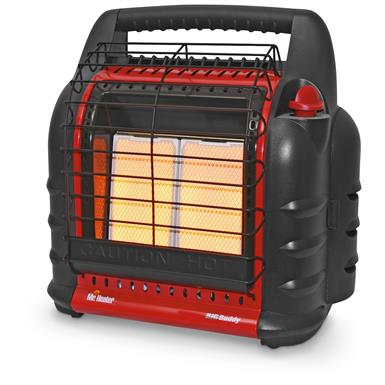 Mr Heater Big Buddy Portable Propane Heater, 18,000 BTU