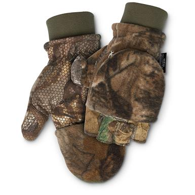 ScentLok Camo Fleece Pop Top Gloves