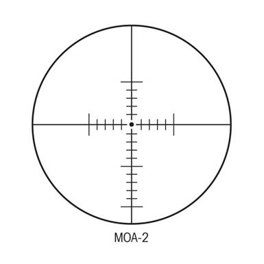 MOA-2 Reticle