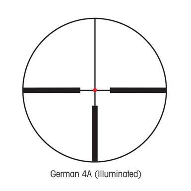 German 4A (Illuminated) Reticle