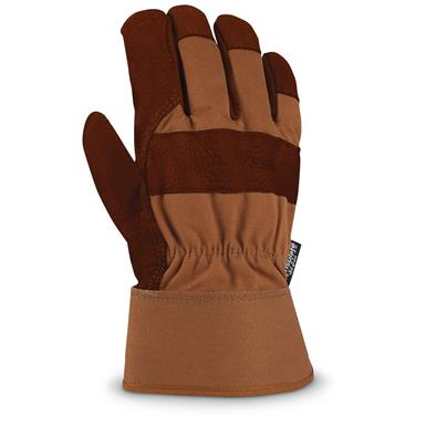 Carhartt Insulated Bison Leather Gloves