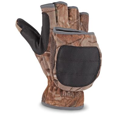 Carhartt Men's Flip It Hunting Gloves, Realtree Xtra
