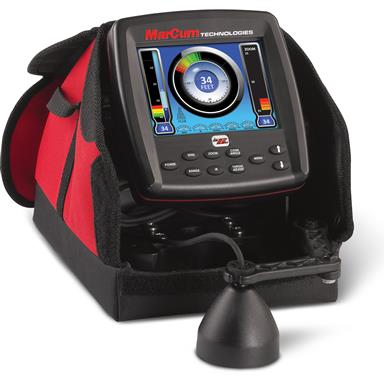 "Marcum LX-6s Digital Sonar System 6"" LCD Dual Beam with 8 Degree / 20 Degree Transducer"
