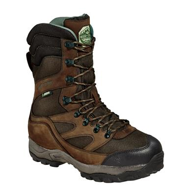 "Wood N' Stream 10"" Mountain Ridge 2,040 Gram Thinsulate Insulation Boots, Maxi Brown"
