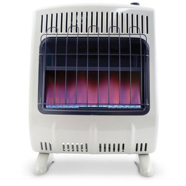 Mr. Heater® Vent-free Blue Flame Propane Heater, 20,000 BTUs