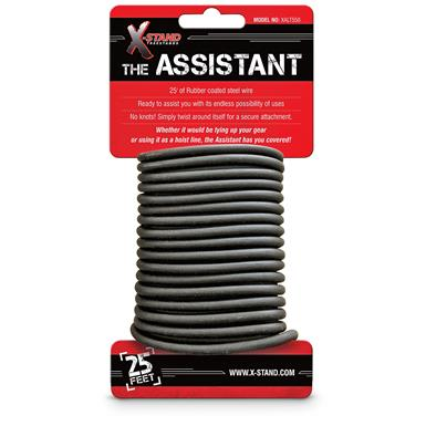 The Assistant Rubber Coated Steel Wire, 2 Pack