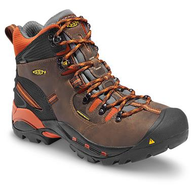 KEEN Utility Men's Pittsburgh Waterproof Soft Toe Work Boots