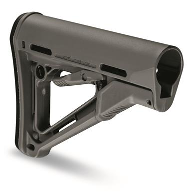 Magpul CTR AR-15 Military-Spec Stock, Gray