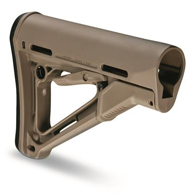 Magpul CTR AR-15 Military-Spec Stock, Flat Dark Earth
