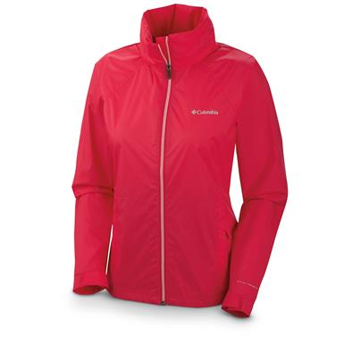 Women's Columbia Switchback II Waterproof Jacket, Bright Rose