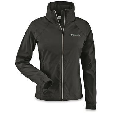 Women's Columbia Switchback II Waterproof Jacket, Black