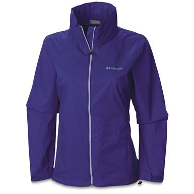 Women's Columbia Switchback II Waterproof Jacket, Purple Lotus