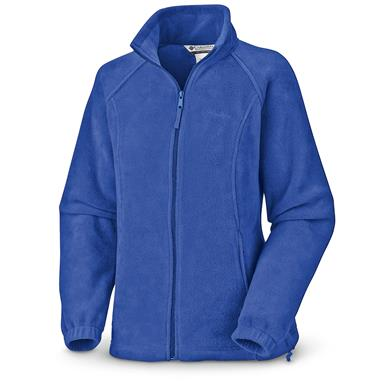 Columbia Women's Benton Springs Full-zip Fleece Jacket, Stormy Blue