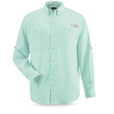 Columbia Men's PFG Tamiami II Long-Sleeve Shirt, Gulf Stream