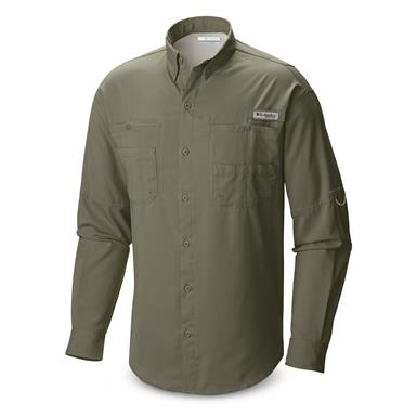 Columbia PFG Men's Tamiami II Long-Sleeve Shirt, Cypress
