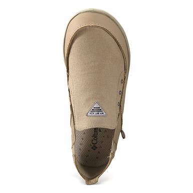 Columbia Men's Bahama Vent PFG Slip On Fishing Boat Shoes, Ancient Fossil