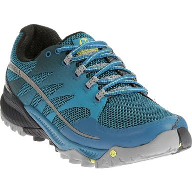 Merrell All Out Charge Trail Running Shoes, Racer Blue / Navy