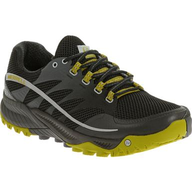 Merrell All Out Charge Tral Running Shoes, Granite / Green