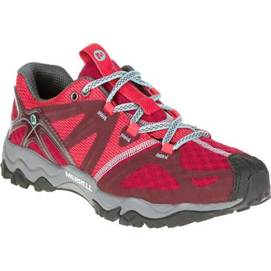 Women's Merrell Grassbow Air Hiking Shoes, Red