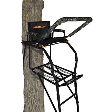 Muddy The Huntsman Ladder Tree Stand, 17'