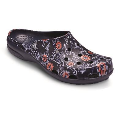 Crocs Women's Freesail Clogs, Navy/Floral
