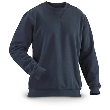 Carhartt Men's Crew Neck Sweatshirt, New Navy