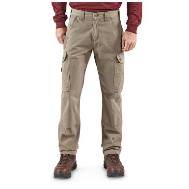 Carhartt Men's Cargo Work Pants, Desert