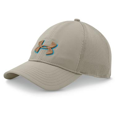 Under Armour Men's Classic Mesh-Back Hat, Graystone
