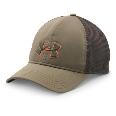 Under Armour Men's Classic Mesh-Back Hat, Bayou / Screen