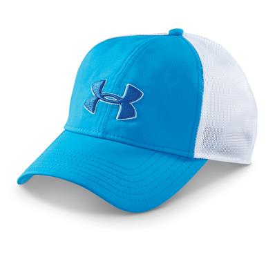 Under Armour Men's Classic Mesh-Back Hat, Electric Blue