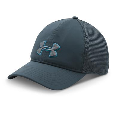 Under Armour Men's Classic Mesh-Back Hat, Stealth Gray