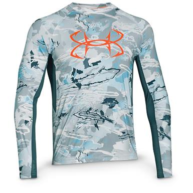 Under Armour Men's CoolSwitch Thermocline Long Sleeve T-Shirt, Ridge Reaper Camo