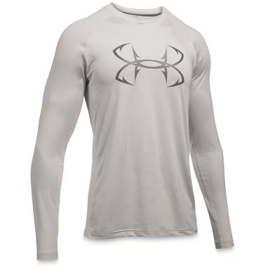 Under Armour Men's CoolSwitch Thermocline Long Sleeve T-Shirt, Glacier Gray / Graphite