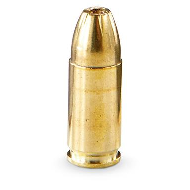 This ammunition is new production, non-corrosive, in boxer-primed, reloadable brass cases